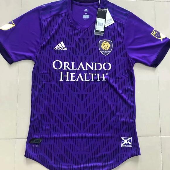 best service 2c3f4 d6830 2019 Orlando City jersey NWT